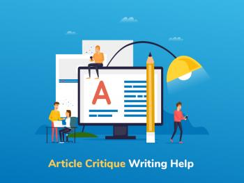 How to Write a Critique of an Academic Article