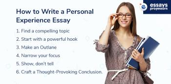 How to Write a Personal Experience Essay: Expert Hints