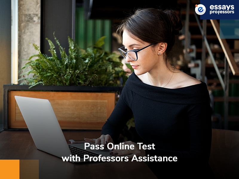 Pass Online Test with Professors Assistance