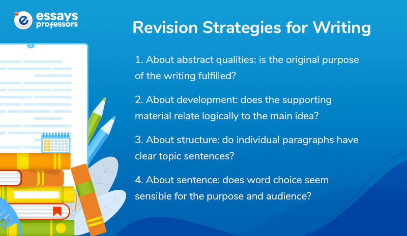 Revision Strategies for Writing
