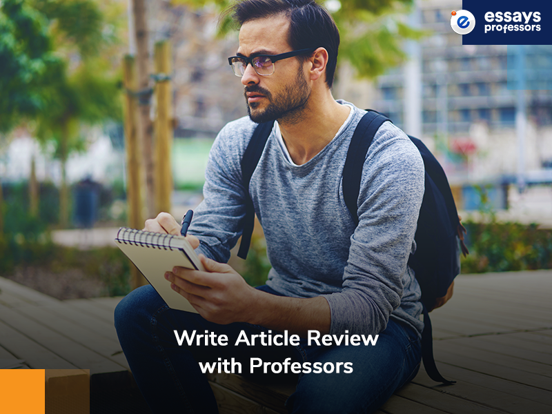 Write Article Review with Professors
